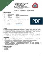 Silabo - Historia de La Matematica 2015
