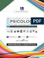 Programa Congreso Ps. CUECH 2016