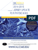 New Jersey 2014-2015 Update for Physicians