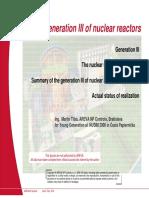 Generation III Nuclear Reactors - by IAEA