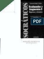 Claudia Marsico (Ed.)-Filósofos Socráticos_ Testimonios y Fragmentos, Vol. 1