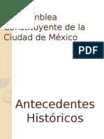 Congreso Constituyente de La Ciudad de México