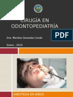 Anestesia y Cirugía en Odontopediatría
