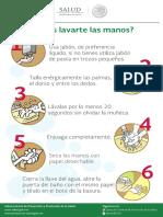 ¿Sabes Lavarte Las Manos Sticker