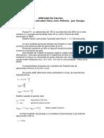 Mathcad - Breviar de Calcul