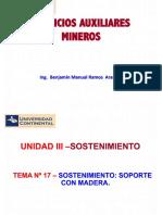 Servicios Auxiliares Mineros-Tema 17