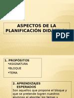 Aspectos de La Planificación