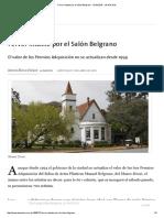 La Nación - Fervor Intacto Por El Salón Belgrano - 13.04