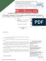 A Prisão Cautelar e o Princípio da Presunção de Inocência - Plínio Luiz Lima Santos - JurisWay.pdf