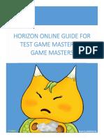 [GM]Guide HO