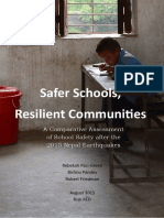 Report on School Damages in Nepal After April Earthquake