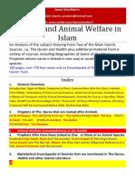 Animals and Animal Welfare in Islam(Pdf2016)