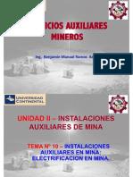 Servicios Auxiliares Mineros-Tema 10