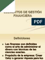 1.2 Elementos de Gestión Financiera