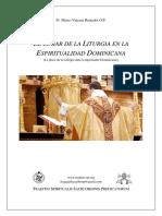 El Lugar de La Liturgia en La Espiritualidad Dominicana