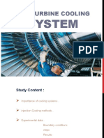 Gas Turbine Cooling System
