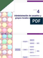 Administración de Usuarios Grupos Locales en Windows