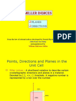 Miller Indices Class