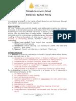 Behaviour Policy 2016 2017 1