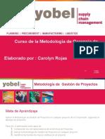 Curso de La Metodología de Gerencia de Proyectos (2013)