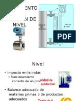 Instrumentos de Medición de Nivel