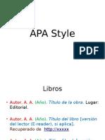 APA - Citas Básicas