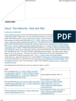 Jesus' Two Natures_ God and Man_Hypostatic Union_Chart about the Two Natures of Jesus.pdf