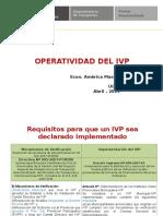 Operatividad Del Ivp