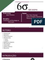 Seminário - Six Sigma