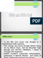 1960s and 1970s Soul music