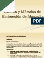 IV Estudio y Métodos de Estimación de Mercado