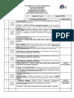 Cronograma III2016 Quimica I