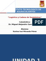 Introducción a la logística y cadenas de suministro