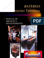 Manual Bateria Tubular
