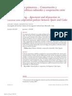 Rodríguez Oliva (Políticas culturales y cooperación Cuba-España, Quorum)