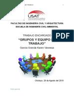 Te1. Grupos y Equipos de Trabajo Karen Garcia