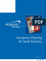 Emergency Planning Blue Paper