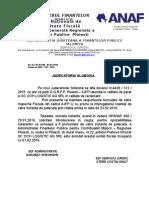 Adresa Judecatori - Comunicare Raspuns Interogatoriu Sc Och Logistic Ag Srl - Contestatie La Executare 2015 - 4420.312.2015
