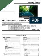 Entrenamiento en Tv Lcd Sony