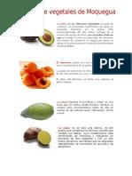 Frutos de Moquegua