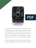 Sistema de audio LG MCV904.docx