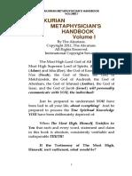 Akurian Metaphysician's Handbook Volume i