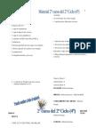 Material  y libros curso 2010 - 2011  4º