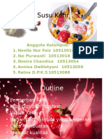 Mikrobiologi Makanan - Susu Kefir