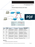Managing Remote Network Devices With Telnet