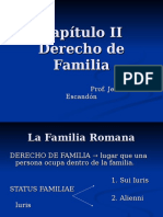 Romano - Capítulo Familia