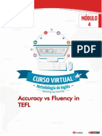 Accuracy vs Fluency in TEFL