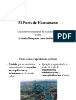 PARIS- PLAN HAUSSMANN