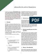 Modelo de Valoración de Activos Financieros