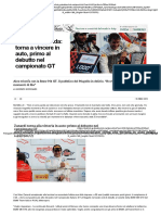 Zanardi-leggenda_ Torna a Vincere in Auto, Primo Al Debutto Nel Campionato GT - Repubblica